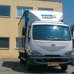 Stěhovací vůz Daewoo