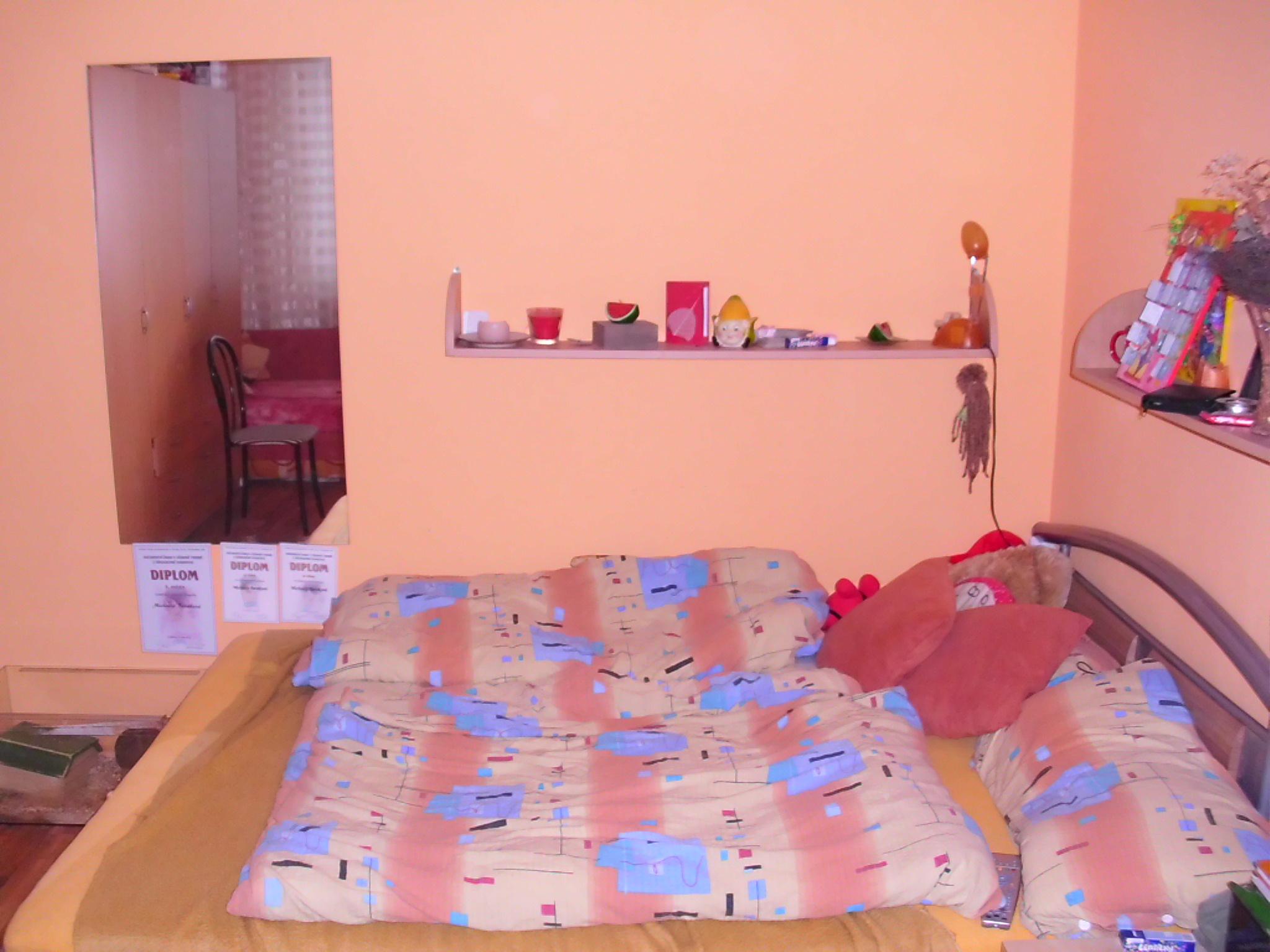 Stěhování bytu 2 + 1, ložnice