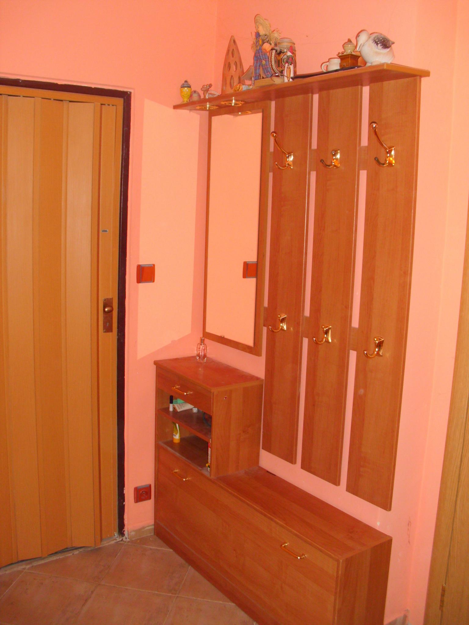 Stěhování bytu 2 + 1 v Brně, šatna