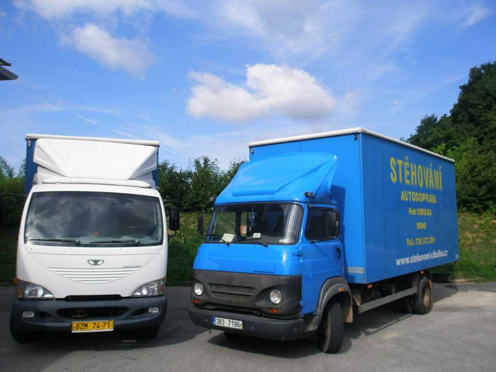 Stěhovací vozy